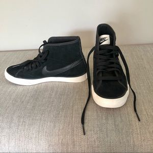 Nike Primo Court Mid Height Top Suede Sneakers